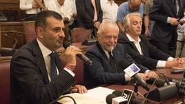 De Laurentiis: «Mio figlio Luigi si occuperà del Bari»