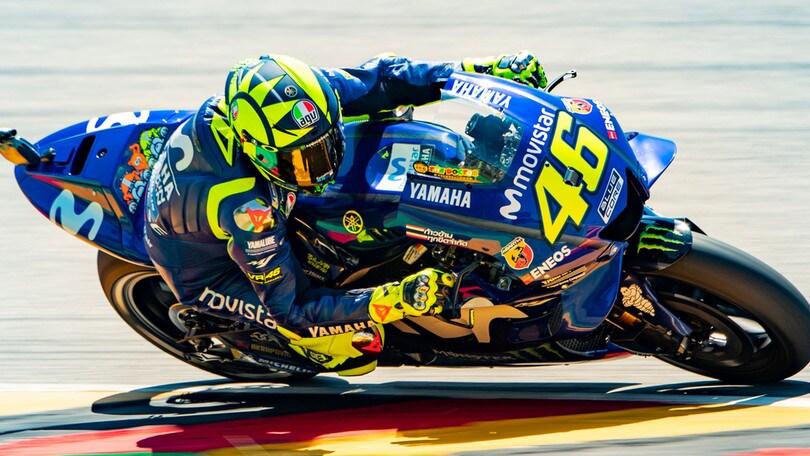 MotoGp, la rimonta Mondiale di Rossi vale 15 volte la posta
