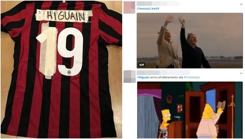 Le reazioni del web sull'affare Bonucci-Higuain-Caldara: «Colpo Milan, la Juve ci rimette»
