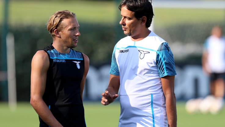 Allenamento Lazio nuove