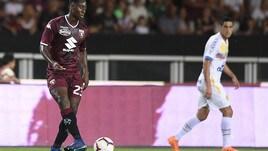 Torino-Chapecoense 2-0: Meitè e De Silvestri gol