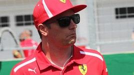 F1 Ferrari, Raikkonen: «Non credo che i tempi contino molto»
