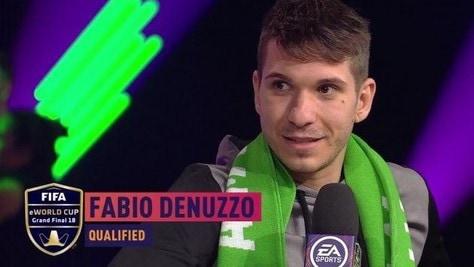 FIFA eWorld Cup: inizia l'avventura di Fabio Denuzzo a Londra
