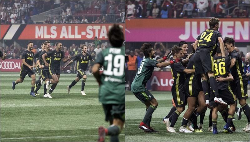 Juventus-MLS All Stars 6-4 (1-1) dcr. Ancora Favilli, poi De Sciglio decide i rigori