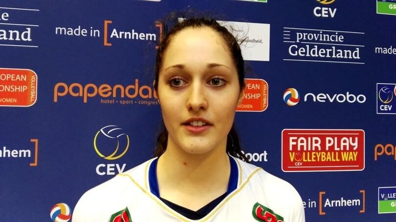 Volley: A1 Femminile, Elisa Tonello chiude la rosa di Chieri