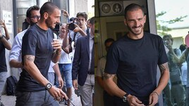 Juventus, ecco Bonucci: quanti sorrisi al suo arrivo a Torino