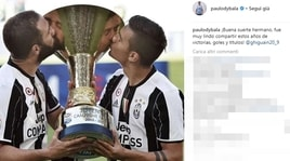 Dybala saluta Higuain: «Bello condividere gol e titoli»