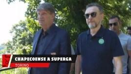 Torino, la Chapecoense in visita a Superga