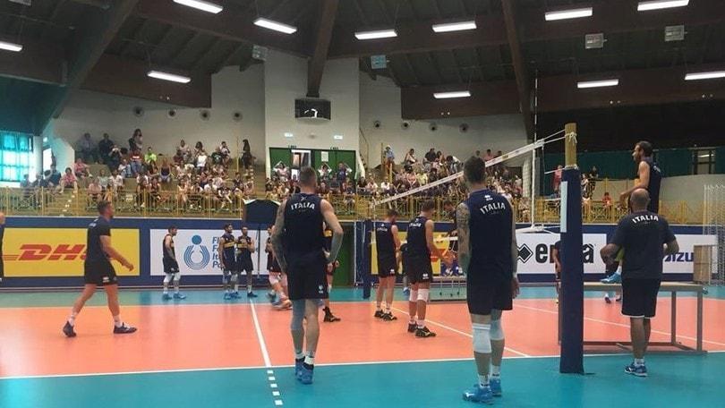 Volley: domani l'Italia in campo per la prima sfida all'Olanda