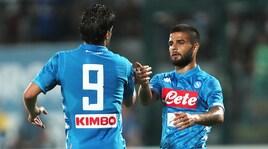 Napoli e Lazio, esordio in anticipo il 18 agosto su DAZN