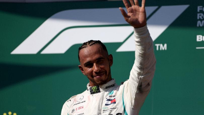 F1 Mercedes, Hamilton: «La gara è il nostro punto di forza»