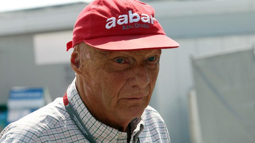 F1, notizie positive da Vienna su Niki Lauda