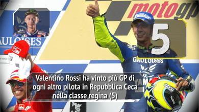 MotoGP Brno - Valentino da star