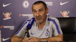 Chelsea, Sarri:«Futuro Courtois in mano a lui e società. Spero rimanga»