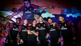Milan, presentata la terza maglia