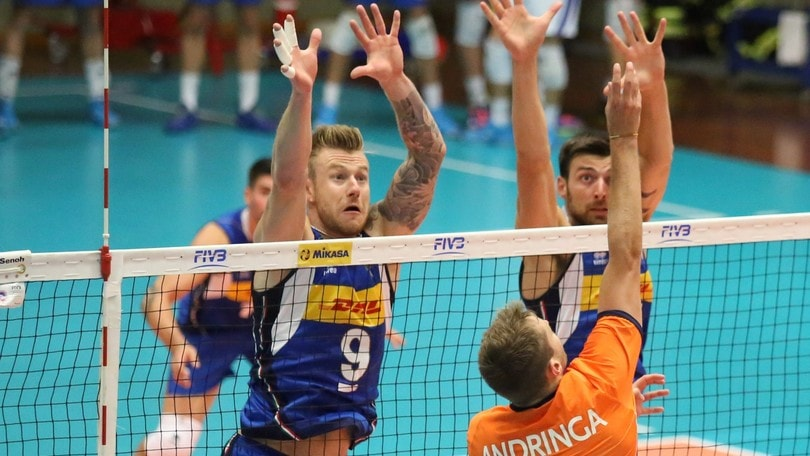 Volley: L'Italia batte l'Olanda a Cavalese