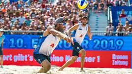 Beach Volley: a Vienna fuori anche Lupo-Nicolai