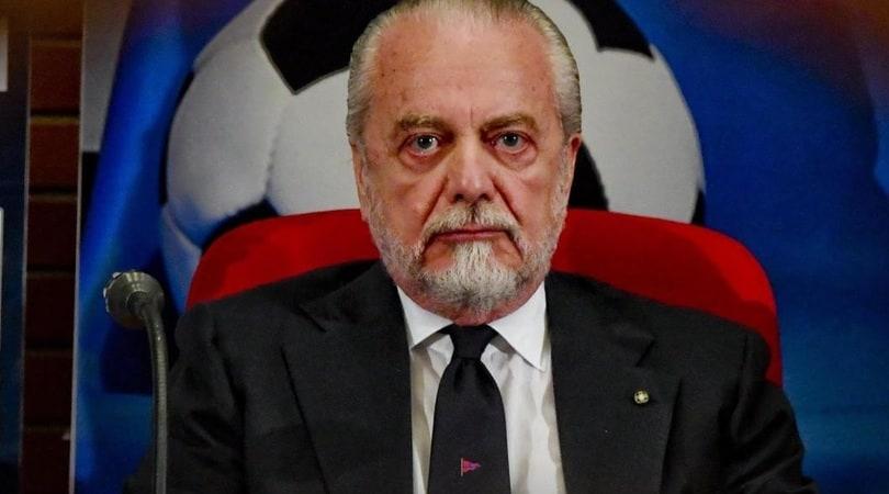 Napoli, rabbia De Laurentiis: «Il San Paolo è un cesso»