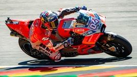 MotoGp Brno, griglia di partenza: Dovizioso in pole, Rossi secondo