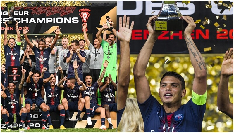 Il Psg vince la Supercoppa: primo trofeo per Buffon