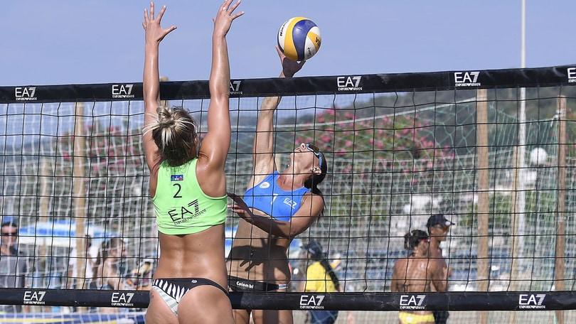 Beach Volley: a Casal Velino decise le prime coppie semifinaliste