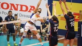 Volley: Blengini fa esperimenti, l'Italia cede al tie break all'Olanda