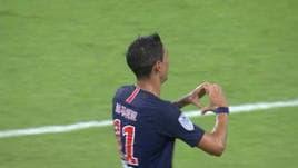 Di Maria, il primo gol dell'anno è una magia