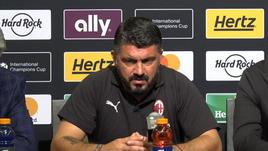 Il punto di Gattuso sulla preparazione rossonera