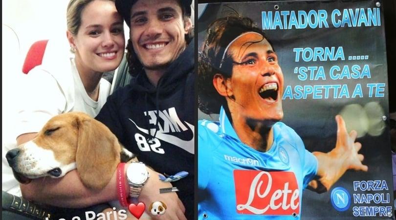 Napoli, una foto di Cavani svela il futuro del Matador