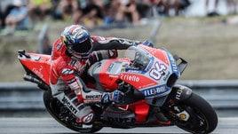 MotoGp Brno, trionfa Dovizioso, Rossi quarto