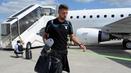 La Lazio arriva in Germania