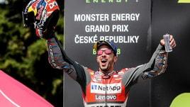 MotoGp Brno, Dovizioso: «Un grandissimo weekend»