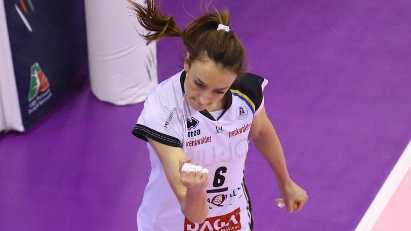 Volley: A1 Femminile, a Filottrano l'esperta Chiara Di Iulio