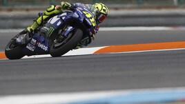 MotoGp Brno, Rossi: «Per il podio serviva un regalo dai tre davanti»