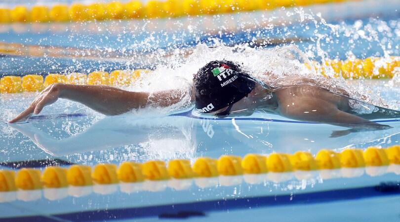 Europei nuoto: Miressi oro nei 100. Bronzo per Paltrinieri nei 1.500