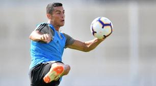 Cristiano Ronaldo, primi gol con la Juve