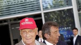 F1, Lauda: decorso post-operatorio «molto soddisfacente»