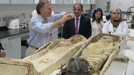 Moavero visita nuovo museo egizio 'Gem'