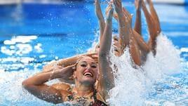 Europei sincro, Italia bronzo a squadre