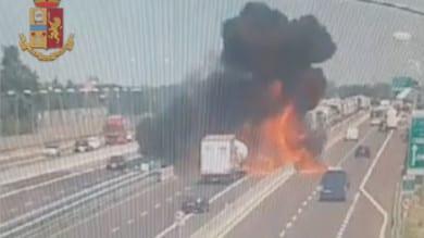 Il video dell'incidente di Bologna