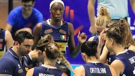 Volley: domani l'Italia affronta la Russia in Olanda