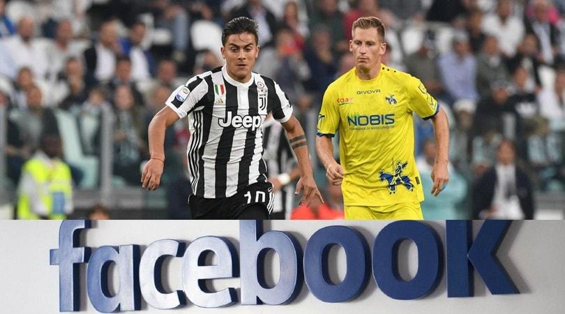 1b2f2f88d Serie A, ecco lo streaming su Facebook: una gara gratis, ma solo nel ...