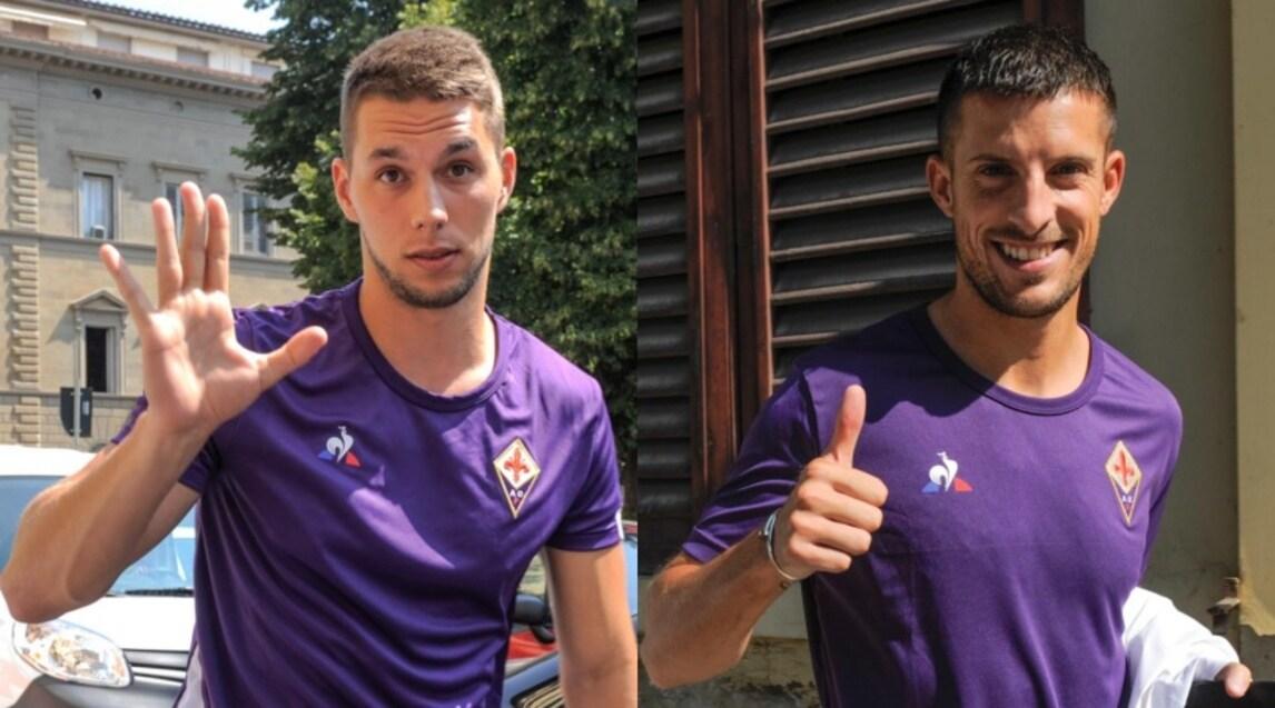 Il fantasista croato, arrivato della Juventus, in città per aggregarsi alla squadra di Pioli