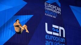 Tuffi, Europei: Tocci vince l'argento nel trampolino da un metro