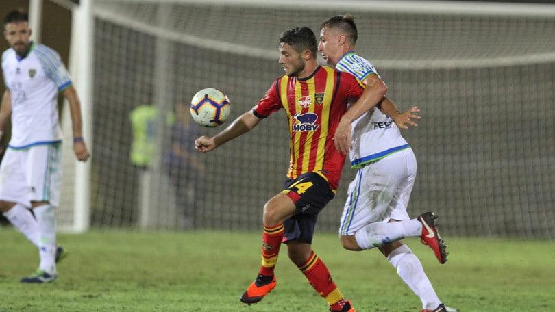 Coppa Italia Lecce-Feralpisalò 1-0. Decide Palombi ai supplementari