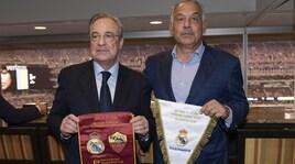 Roma, Strootman non basta: vince il Real. Incontro Pallotta-Perez