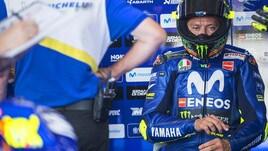 MotoGp Yamaha, Rossi: «Austria dura per noi ma la moto è migliorata»