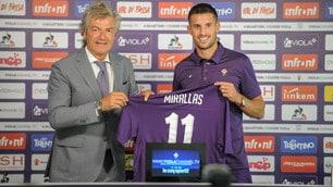 Fiorentina, Mirallas sceglie il numero 11