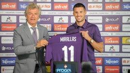 Mirallas: «Fiorentina, sogno di vincere un grande trofeo»
