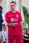 Cagliari: Cossu saluta, 7' con Atletico